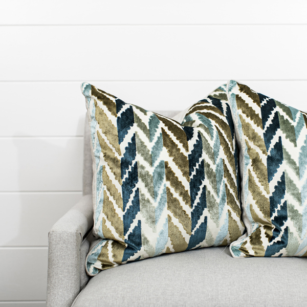 Ocean & Earth Chevron Stripe