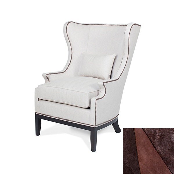 King Chair in Leather